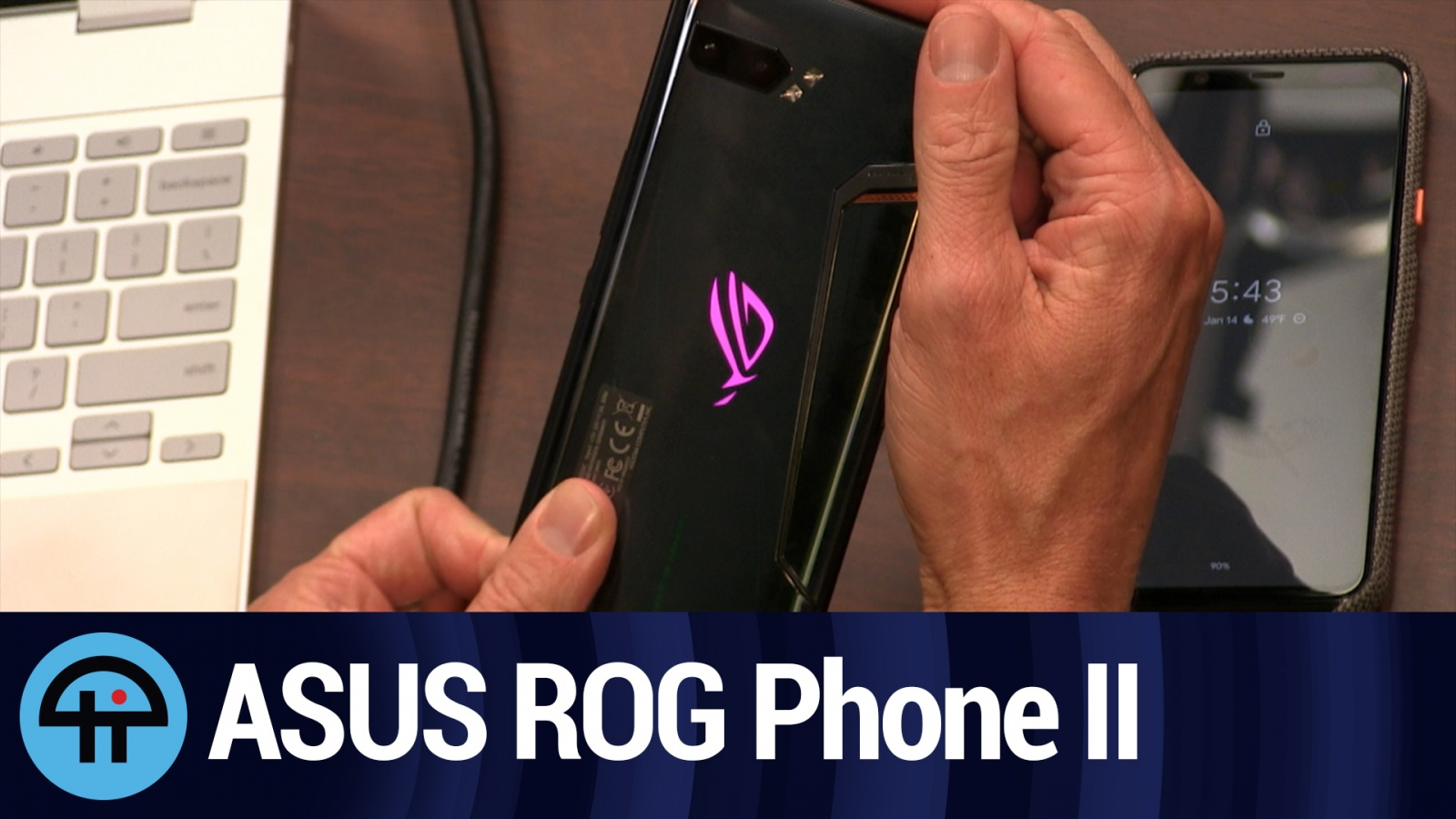 Hands-on With the ASUS ROG Phone II (TWiT Bits)