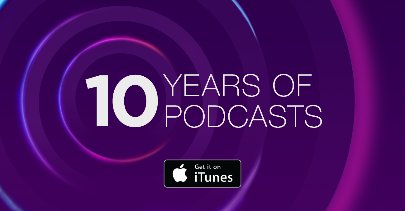 iTunes - 10 Years of Podcasts