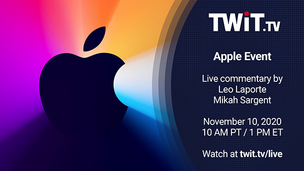 November 10 Apple Event