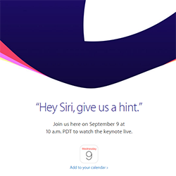 Apple 2015 iPhone Event