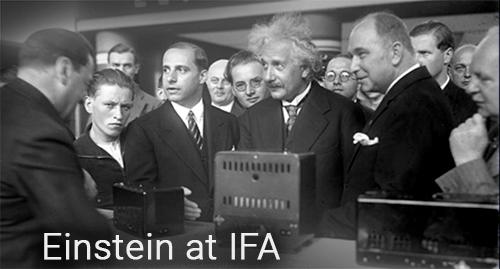 Einstein at IFA