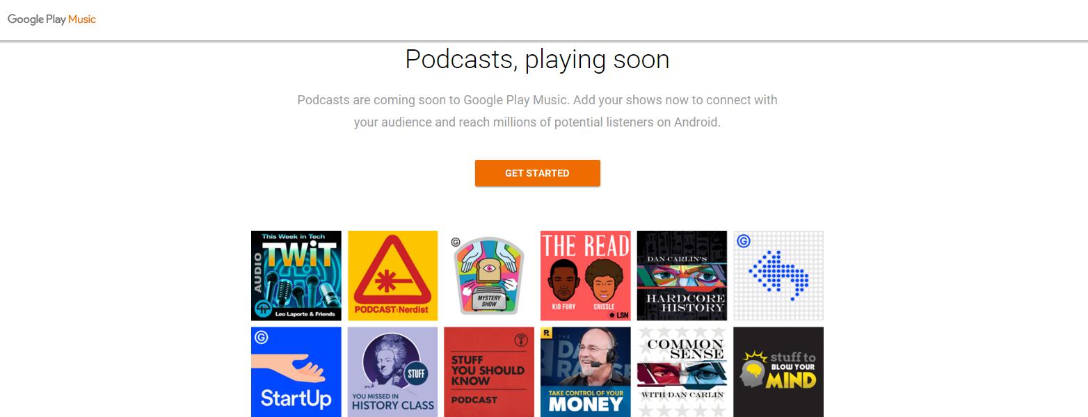 Google Play Podcast Portal