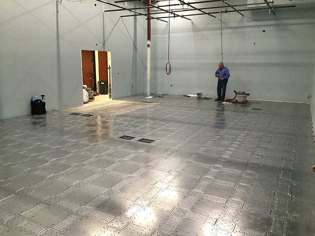Eastside Studio- Grid floor
