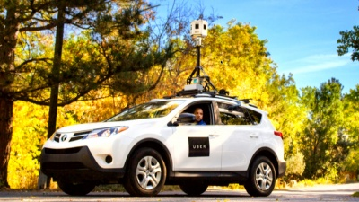 Uber now has StreetView cars that drive around mapping things
