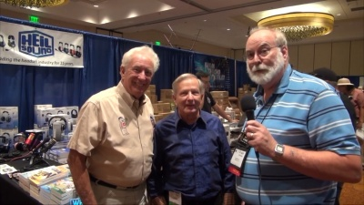 Gordon West, Bob Heil, and Randy Hall at Pacificon