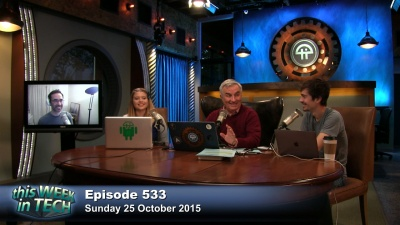 Leo Laporte, Patrick Beja, Lauren Hockenson, and Mark Milian talk about tech earnings, YouTube Red, viral bacon, Hilary GIFs, and more.