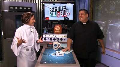 Princess Leia and Fr. Robert Ballecer