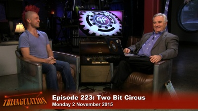 Eric Gradman of Two Bit Circus joins Leo on this episode