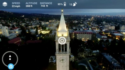 A new app works like Google Waze, but for drones