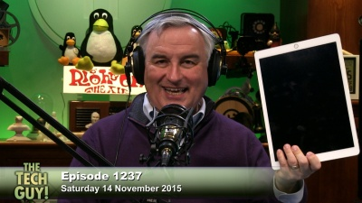 Leo Laporte and the iPad Pro