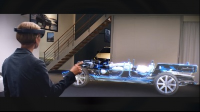 Volvo Shows HoloLens is Virtually Here