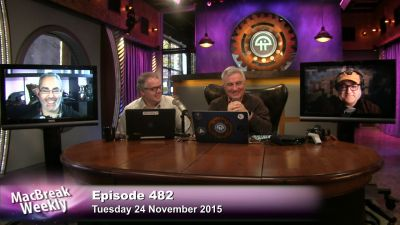 Leo Laporte, Alex Lindsay, and Rene Ritchie are all laughing, but why isnt Andy Ihnatko?