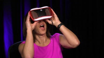 Megan Morrone and the View-Master VR