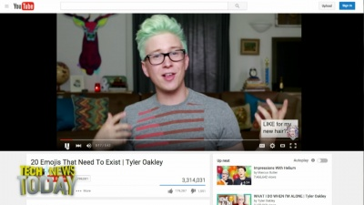 YouTube personalities are evolving a YouTube-specific way of talking, like Tyler Oakley.