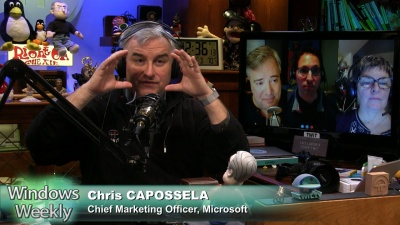 Leo Laporte, Mary Jo Foley, and Paul Thurrott