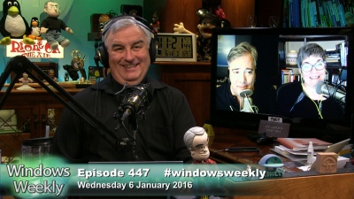 Leo Laporte, Mary Jo Foley, Paul Thurrott talk the latest news from CES in Las Vegas, how Windows 10 has been activated on more than 200M devices, Microsoft refines auto strategy, and more.