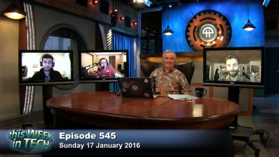 Leo Laporte, Steve Kovach, Tim Stevens, and Ben Thompson talk about new car technologies, Bitcoin warning, Twitter anonymity, and more.