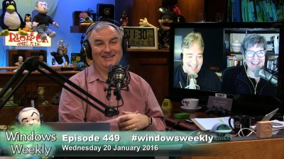 Leo Laporte, Mary Jo Foley, Paul Thurrott talk about how Microsoft is not going to support older versions of Windows on newer hardware, new HoloLens details, and more.