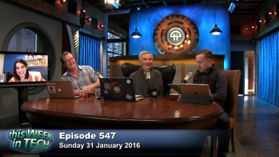 Leo Laporte, Jason Calacanis, Christina Warren, and Alex Wilhelm mess with the audiences' Amazon Echoes.