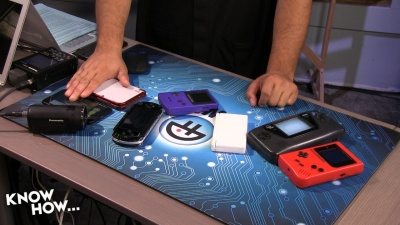 Mobile gaming of past and present