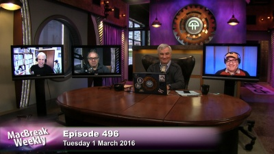 Adam Engst, Alex Lindsay, Leo Laporte, and Andy Ihnatko