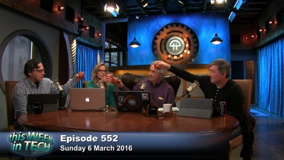Leo Laporte is joined in-studio by Becky Worley, Jason Snell, and Harry McCracken to discuss Google's self-driving car hitting a bus, Apple's new campus, the future of journalists, the smartphone as an extension of the mind, and more.