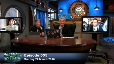 Leo Laporte, Katie Benner, Devindra Hardawar, and Jason Snell talk about how the Apple/DOJ case stalls, the new iPhone SE and iPad Pro, Amazon Echo as a platform, lesson's from Tay, effects of streaming on the music industry, and more...