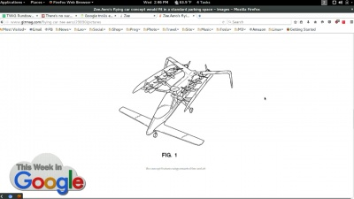 Zee.Aero Flying Car Patent