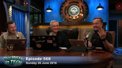 Iain Thomson, Leo Laporte, and Jason Calacanis
