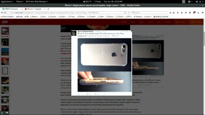 Possible iPhone 7 photo