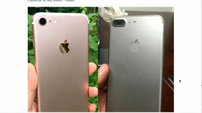 iPhone 6s next to potential iPhone 7