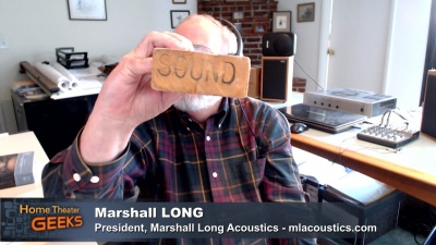 Marshall Long with a sound 2x4