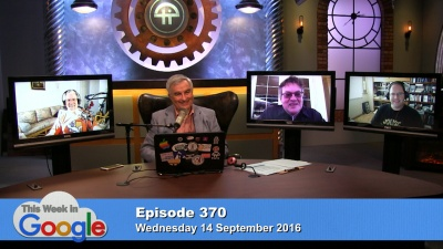 Mathew Ingram, Leo Laporte, Kevin Marks, and Aaron Newcomb