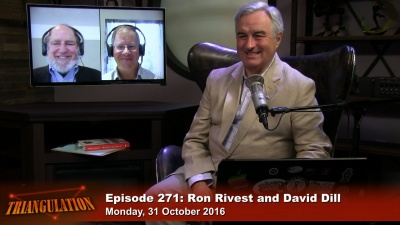 Election Security: Ron Rivest and David Dill