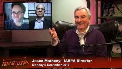 Jason Matheny, IARPA Director