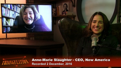 Anne-Marie Slaughter, New America