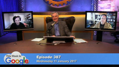 Stacey Higginbotham, Leo Laporte, and Aaron Newcomb