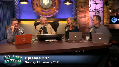 Greg Ferro, Leo Laporte, Becky Worley, and Mike Elgan