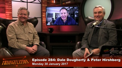 Dale Dougherty and Peter Hirshberg - Maker City