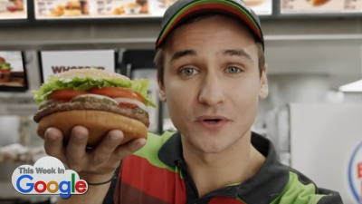 Burger King Whopper Commercial
