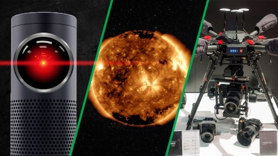 Space weather, NAB 2017, Gear VR vs. Google Daydream, Overcast on the Apple Watch, and Amazon Echo Look.