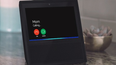 Mom calling on the Amazon Echo Show