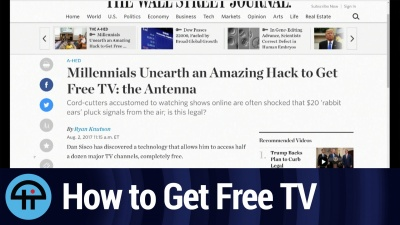 Millenials Unearth an Amazing Hack to Get Free TV: the Antenna
