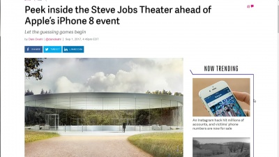 Peek inside the Steve Jobs Theater ahead of Apples iPhone 8 event - The Verge