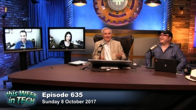 Mikah Sargent, Christina Warren, Leo Laporte, and Ben Parr