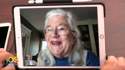 Mary Laporte on FaceTime