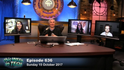 Erin Griffith, Leo Laporte, Brianna Wu, and Dan Patterson