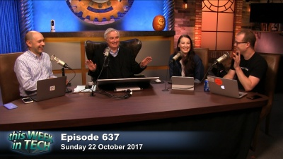 Jason Hiner, Leo Laporte, Florence Ion, and Alex Wilhelm