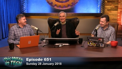 Greg Ferro, Leo Laporte, and Iain Thomson