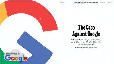 The Case Against Google - NY Times